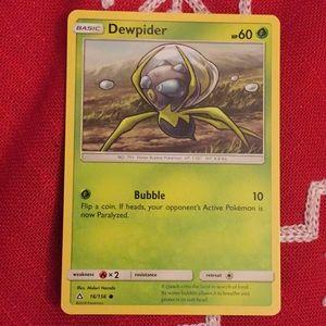 Used, pokemon card( Dewpider) for sale